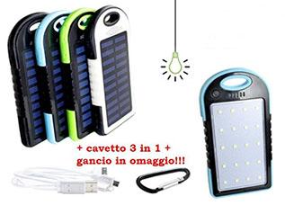 Ricaricatore fotovoltaico